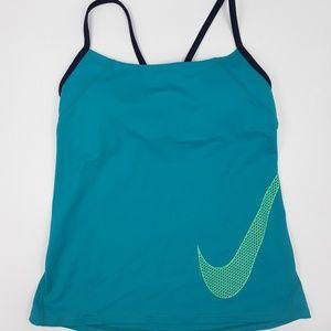 Blue Nike Tankini